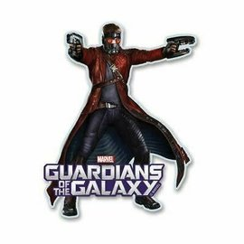 Aimant - Marvel - Gardians of the Galaxy: Starlord en bois