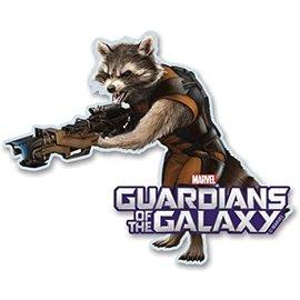 Aimant - Marvel - Gardians of the Galaxy: Rocket en bois