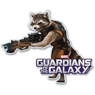 Aimant - Marvel - Guardians of the Galaxy: Rocket en Bois 3D