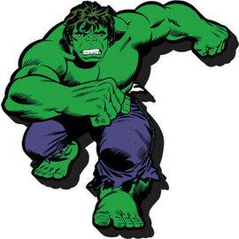 Aimant - Marvel - Hulk: Classique en bois