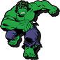 Aimant - Marvel - The Incredible Hulk: Classique en Bois 3D