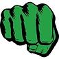 Aimant - Marvel - The Incredible Hulk: Poing en Bois 3D