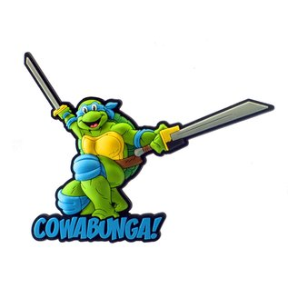Monogram Aimant - Teenage Mutant Ninja Turtles - Leonardo en Caoutchouc