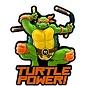 Monogram Aimant - Teenage Mutant Ninja Turtles - Michelangelo en Caoutchouc