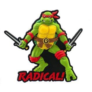 Monogram Aimant - Teenage Mutant Ninja Turtles - Raphael en Caoutchouc