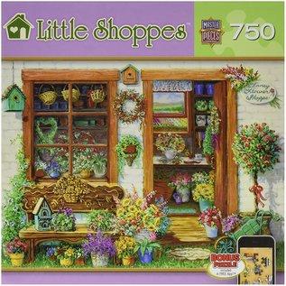 Master Pieces Puzzle Co Casse-tête - Little Shoppes - Magasin de Fleur Fantaisiste 750 pièces