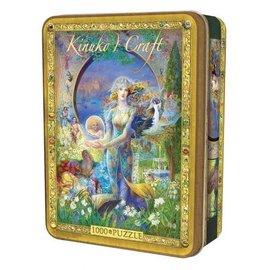 Master Pieces Puzzle Co Puzzle  - Kinuko Y. Craft - Cybele's Secret 1000 in Tin Box pieces