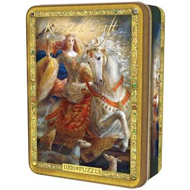 Master Pieces Puzzle Co Casse-tête - Kinuko Y. Craft - Eleanor of Aquitaine en Boîte Métallique 1000 pièces
