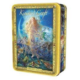 Master Pieces Puzzle Co Casse-tête - Kinuko Y. Craft - Rhiannon en Boîte Métallique 1000 pièces  *Liquidation*