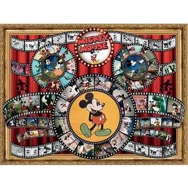 Ceaco Casse-tête - Disney - Classique Mickey Mouse Bobine de Film 1500 pièces