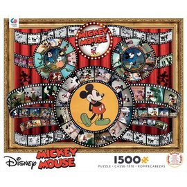 Ceaco Puzzle - Disney - Classic Mickey Mouse Movie Reel 1500 pieces