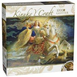Master Pieces Puzzle Co Casse-tête - Kinuko Y. Craft - Eleanor of Aquitaine avec Brillants 1000 pièces