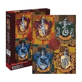 Aquarius Puzzle - Harry Potter - Four Houses Crests 1000 pieces