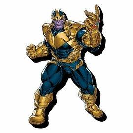 NMR Aimant - Marvel - Avengers: Thanos en Bois 3D