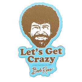 NMR Aimant - Bob Ross - Let's Get Crazy en Bois 3D