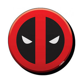 NMR Aimant - Marvel - Deadpool: Logo en Bois 3D