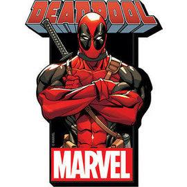 NMR Magnet - Marvel - Deadpool Wooden 3D