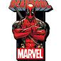 NMR Aimant - Marvel - Deadpool: en Bois 3D