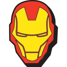 NMR Aimant - Marvel - Iron Man: Masque en Bois 3D