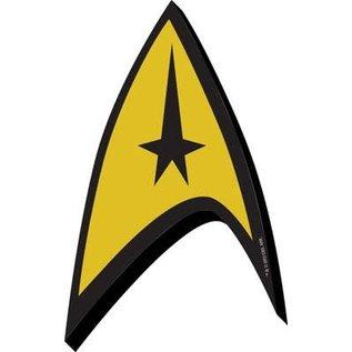 NMR Aimant - Star Trek - Command Badge en Bois 3D