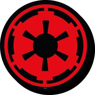 NMR Aimant - Star Wars - Empire: Logo Imperial en Bois 3D