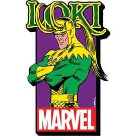 NMR Aimant - Marvel - Thor: Loki en Bois 3D