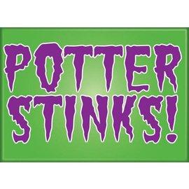 Ata-Boy Aimant - Harry Potter - Potter Stinks!