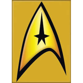 Ata-Boy Aimant - Star Trek - Delta Shield Command Symbol