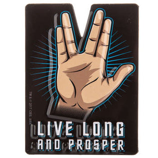Other Aimant - Star Trek - Live Long and Proper en Métal