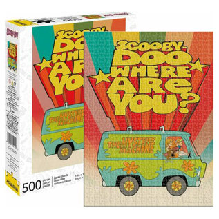 Aquarius Casse-tête - Scooby Doo! - Scooby Doo! Where are You 500 pièces