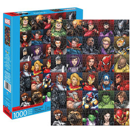 Aquarius Casse-tête - Marvel - Collage de Personnages 1000 pièces