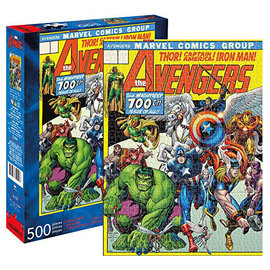 Aquarius Puzzle - Marvel - Avengers 100th Issue 500 pieces