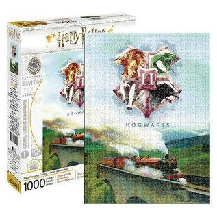 Aquarius Casse-tête - Harry Potter - Poudlard Express avec Emblème 1000 pièces