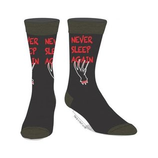 Bioworld Chaussettes - A Nightmare on Elm Street - Freddy Never Sleep Again 1 Paire Crew Tube