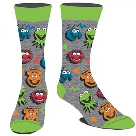 Bioworld Chaussettes - Disney - The Muppets: Personnages 1 Paire Crew Tube