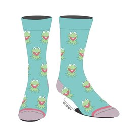 Bioworld Chaussettes - Disney - The Muppets: Kermit 1 Paire Crew Tube