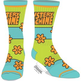Bioworld Chaussettes - Scooby-Doo! - The Mystery Machine Néon 1 Paire Crew