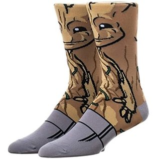 Bioworld Chaussettes - Marvel - Guardians of the Galaxy: Groot 1 Paire Crew