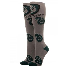 Bioworld Socks - Harry Potter - Slytherin with Shield 1 Pair Knee High