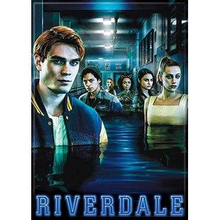 Ata-Boy Aimant - Riverdale - Archie, Jughead, Cheryl, Josie, Veronica et Betty dans L'Eau