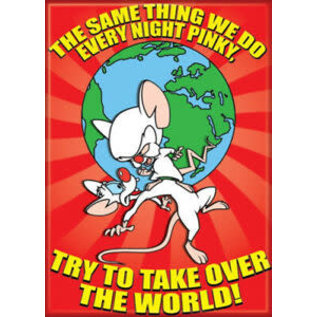 Ata-Boy Aimant - Pinky and the Brain - The Same Thing We Do Every Night Pinky, Try to Take Over the World