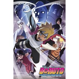 Aquarius Aimant - Boruto - Naruto Next Generation Groupe