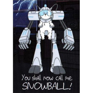 NMR Aimant - Rick & Morty - You Shall Call Me Snowball