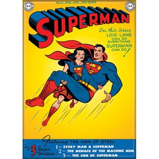 Ata-Boy Magnet - DC Comics - Superman Classic with Wonder Woman