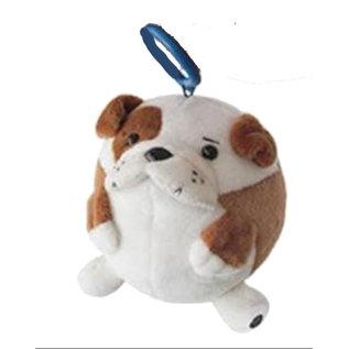 Squishable Peluche - Squishable - Micro Bulldog avec Clip 3''