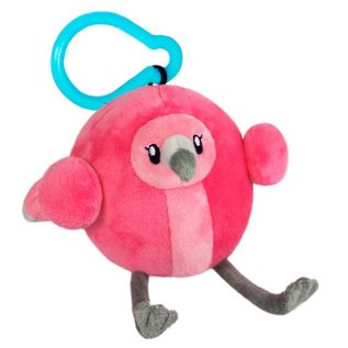Squishable Peluche - Squishable - Micro Flamant Rose avec Clip 3""