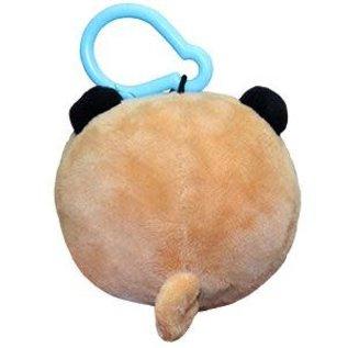"Squishable Peluche - Squishable - Micro Pug avec Clip 3"""