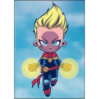 Ata-Boy Aimant - Marvel - Captain Marvel: Cartoon par Scottie Young