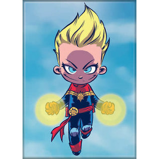 Ata-Boy Magnet - Marvel - Captain Marvel: Cartoon by Scottie Young