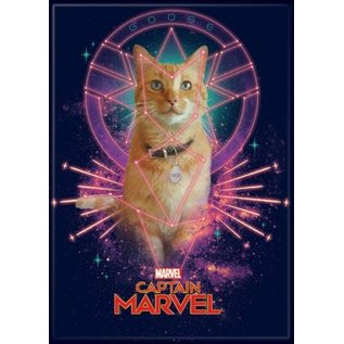 Ata-Boy Magnet - Marvel - Captain Marvel: Goose the Cat